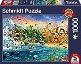 Schmidt Animal Kingdom-Puzzle (1000 Piezas), Multicolor (SCH58324)