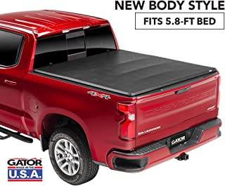 Gator ETX Soft Tri-Fold Truck Bed Tonneau Cover | 59115 | 2019 Chevy/GMC Silverado/Sierra 1500 (5.8' bed), New Body Style | MADE IN THE USA