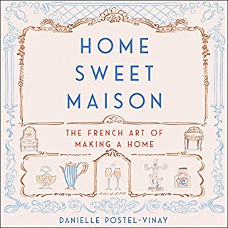 Home Sweet Maison audiobook cover art