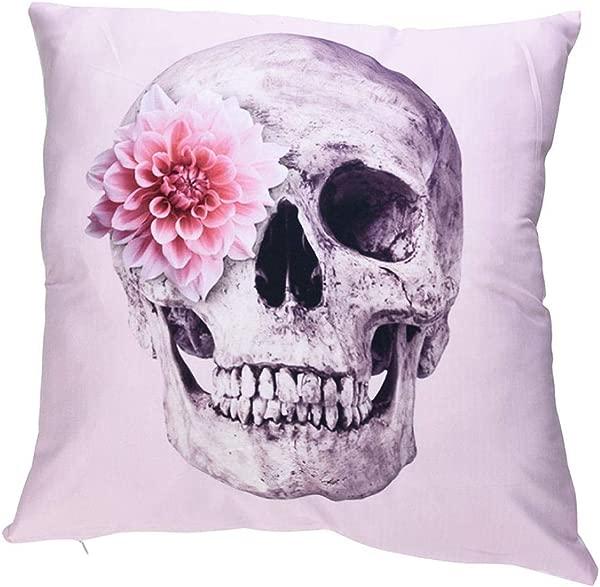 Bokeley Throw Pillow Case Classical Print Pillow Cases Polyester Sofa Car Cushion Cover Home Decor Color A
