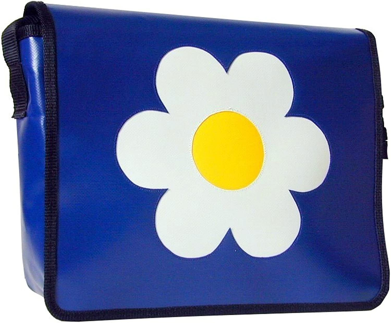 Goellerbags Schultertasche Blaume Blau Gelb Weiss H 30, B 32, T 11 B004S65UW0  Hervorragende Funktion