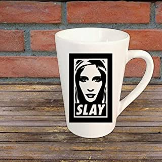 Buffy the Vampire Slayer Slay Mug Coffee Cup Gift Halloween Home Decor Kitchen Bar Gift for Her Him Any Color Personalized Custom