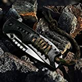 *New CROCBAIT MK1 Knife* Best Outdoor Companion Folding Pocket Knife Hunting Camping Fishing