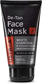 Ustraa De-Tan Face Mask - Oily Skin - 125 gm