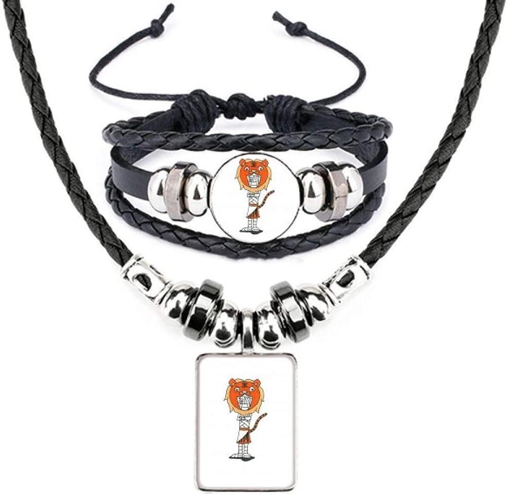 Egypt Mummy Horus Tiger Hat Bracelet Jewelry Se Necklace Leather Max 46% OFF shop
