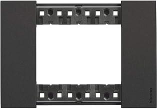 Living Now Placca 3 modules, zwart