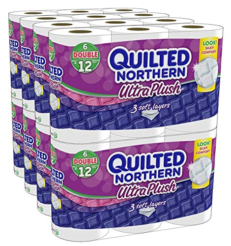 Quilted Northern Ultra Plush Bath Tissue, (8,448 Sheets), 6...