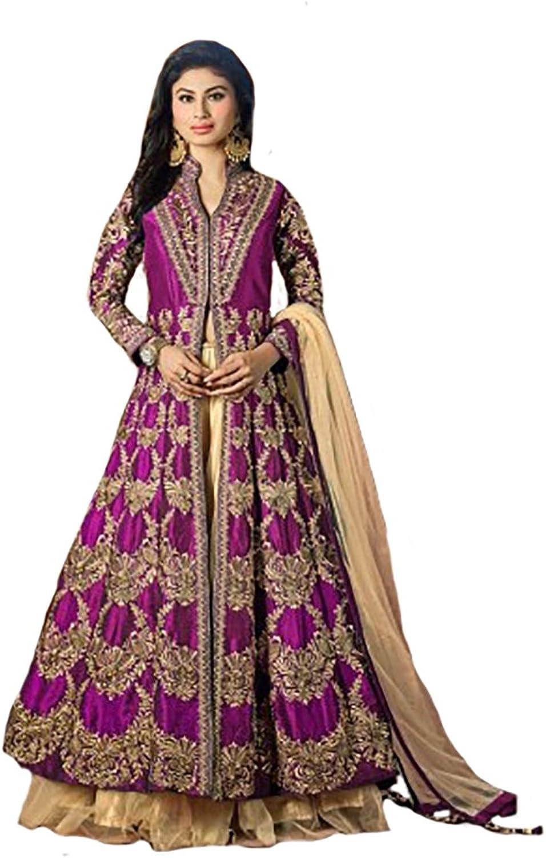 Anarkali Salwar Kameez Suit Dupatta Ceremony Wedding Bridal Multi