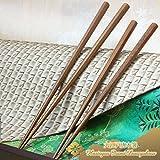 大江戸唐木箸 蝋磨き 八角南天桐 (◆1膳 中サイズ:20.5cm)