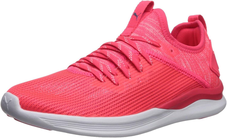 PUMA Womens Ignite Flash Evoknit Stripped Wn Sneaker