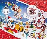 Kelloggs Frühstücks-Adventskalender rot, 1er Pack (1 x 606 g)
