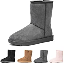 DKSUKO Women's Classic Waterproof Snow Boots Winter Boots