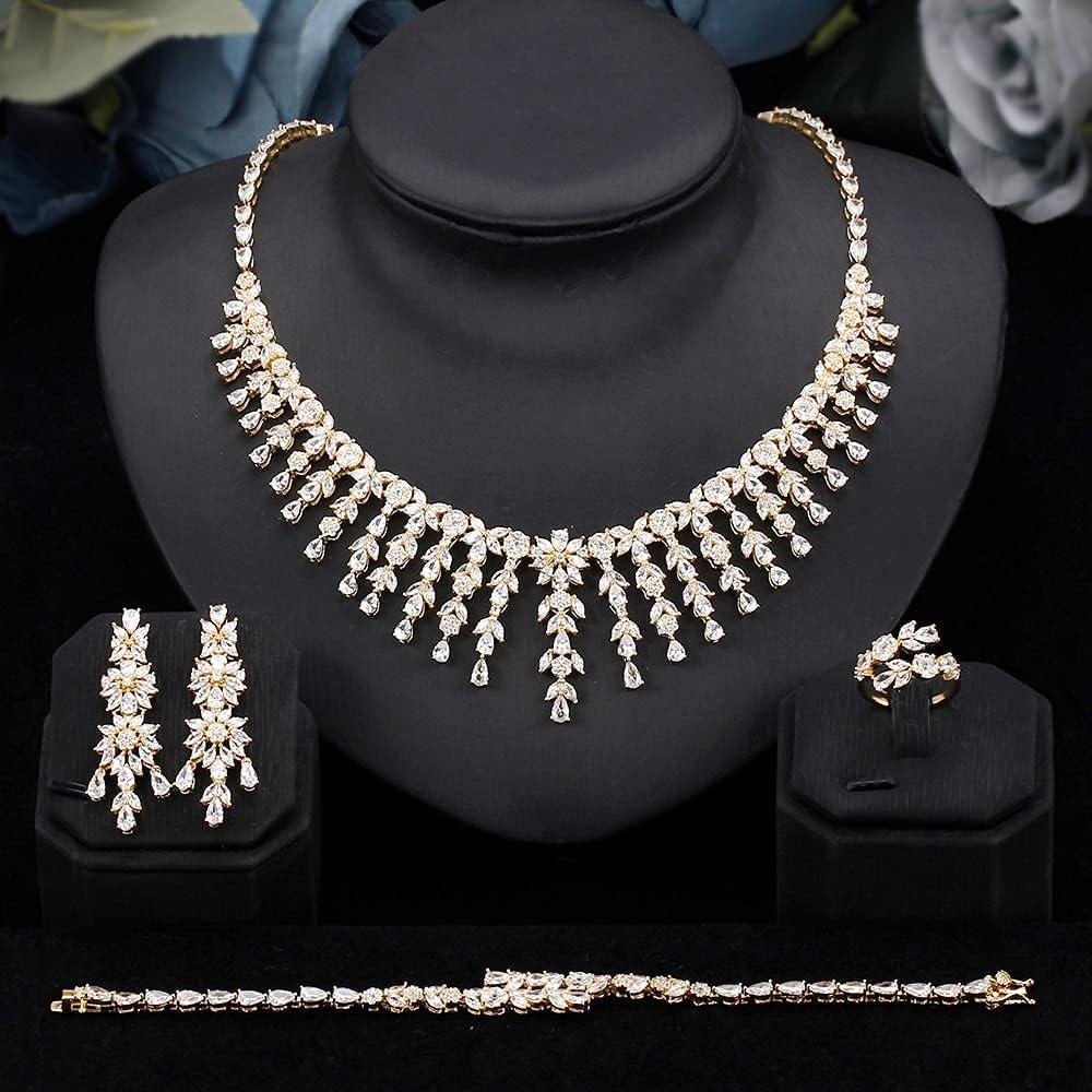 Boston Mall SYXMSM Rapid rise Jewellery Set Bridal Cub Arborization Tassels Jewelry
