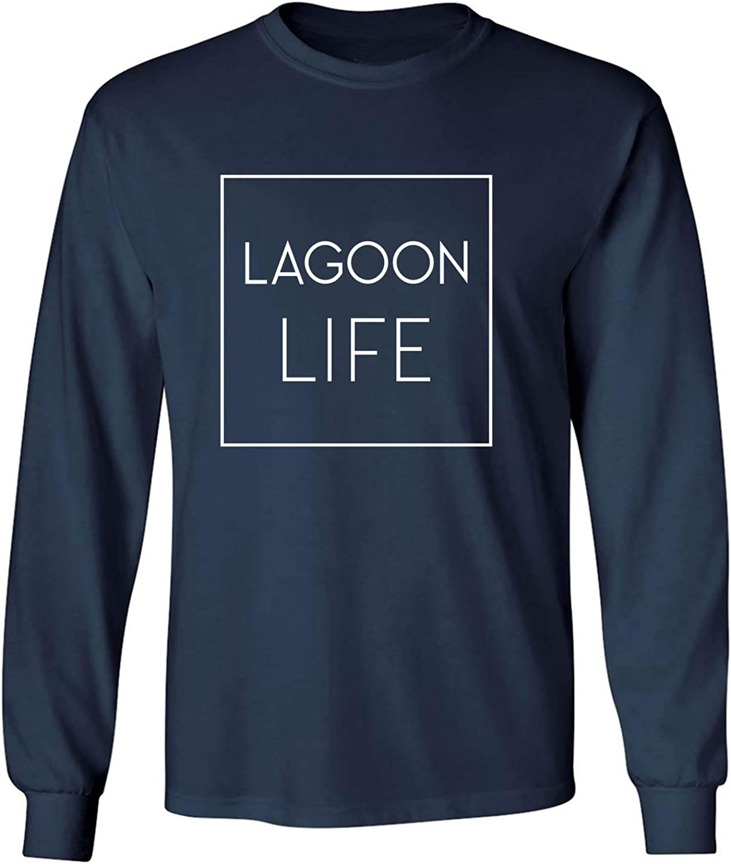 zerogravitee Lagoon Life Adult Long Sleeve T-Shirt