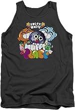 Amazing World Of Gumball Happy Place - Camiseta de Tirantes para Hombre, Color Gris