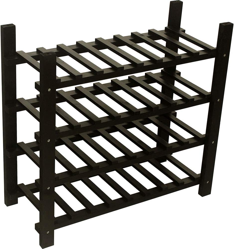 Stackable Fresno Mall Wine Virginia Beach Mall Storage Rack Wooden Stand 120 Bottles Capacity