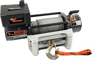 Mile Marker 77-50141W SEC8(ES) Truck/Jeep/SUV Element Sealed Electric Winch - 8,000 lb. Capacity, 1 Pack