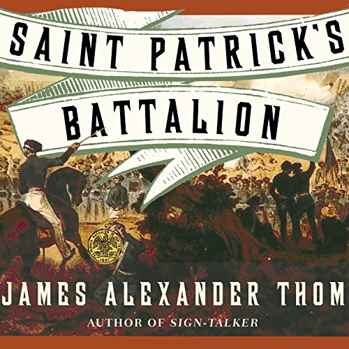 Saint Patrick's Battalion audiobook cover art