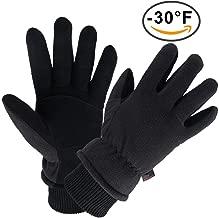 winter gloves below zero