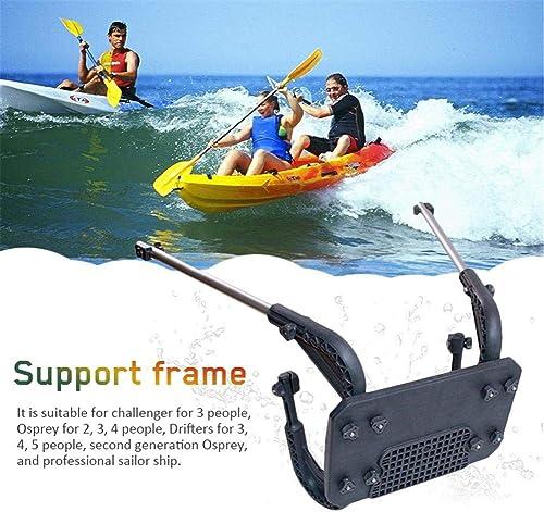 G-wukeer Cadre de Support, Support de Moteur INTEX, système de Suspension pour hélice, Bateau d'assaut, Kayak, Cadre de Support pour Bateau pneumatique