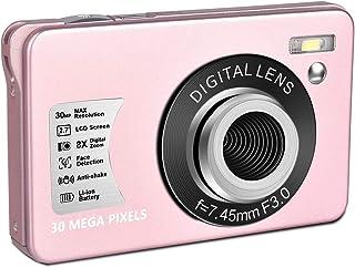 Digital Camera HD 1080P Vlogging Camera 30 MP Mini Cheap Camera 2.7 Inch LCD Screen Camera with 8X Digital Zoom Compact Ca...