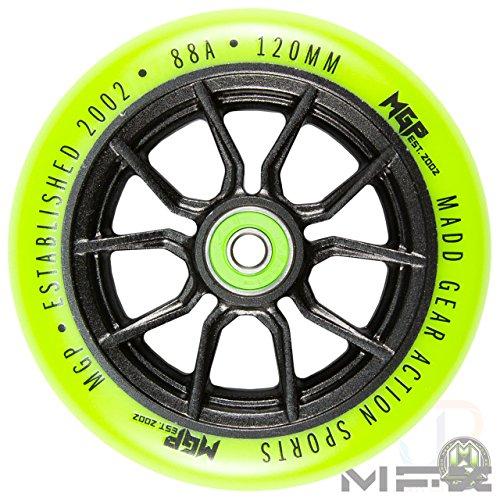 Madd Gear MGP Kick MINI Pro RASCAL III Scooter-Blu//Lime