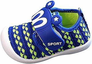 KONFA Toddler Baby Boys Girls Cartoon Squeaky Sneakers,for 0-3 years old,Kids Lovely Prewalker Single Shoes