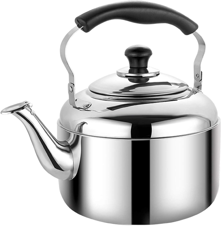 Whistling Stainless Steel Stove Larg Teapot Elegant Household Ranking TOP18 Ergonomic