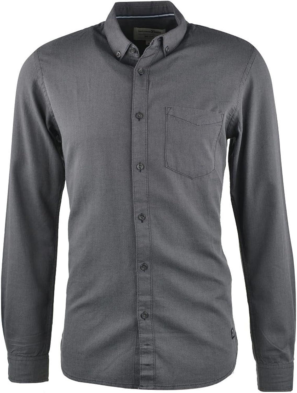Tom Tailor Langarm Hemd schwarz B079QJK37Z  Rechtzeitige Aktualisierung