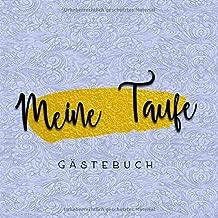 Meine Taufe Gästebuch Ein Erinnerungsalbum Und Gästealbum