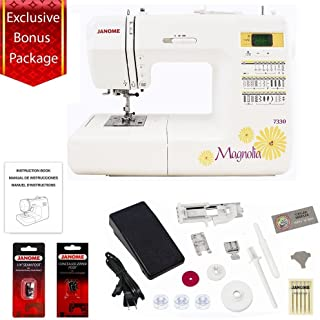 janome magnolia 7330 accessories