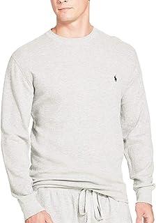 (ポロ ラルフローレン) POLO RALPH LAUREN メンズ サーマルワッフル クルーネック 長袖 Tシャツ ロンT [P551G] [並行輸入品]