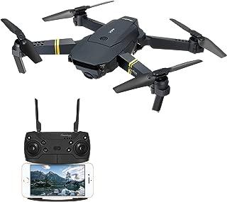 EACHINE E58 ドローン カメラ付き 小型 720P HD カメラ 空撮 スマホで操作可 WIFI FPV リアルタイム 高度維持 自動ホバリング 2.4GHz 6軸ジャイロ ヘッドレスモード ポケット 折り畳み式 RTF