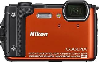 Nikon Coolpix w30016MP 4K Ultra HD防水デジタルカメラ(オレンジ)–(認定Refurbished )