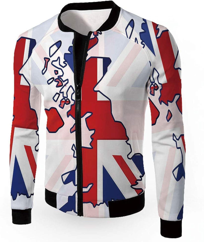 e20506fe3 IPrint Windbreaker Jacket,Unicorn Cat,Men's Lightweight Zip-up Zip-up  Zip-up Windproof Windbreaker Ja c03640