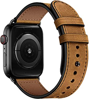 Best rugged leather apple watch band Reviews