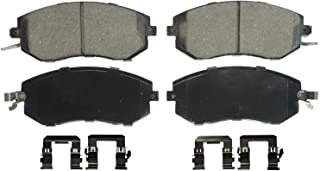 Wagner QuickStop ZD1539 Ceramic Disc Pad Set Includes Pad Installation Hardware, Front