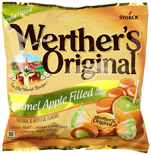 Werthers Caramel Apple Filled Hard Candies 55 oz