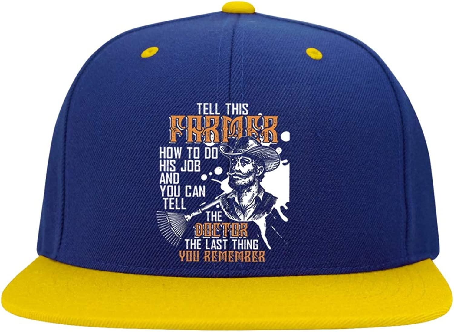 - FLOSTORE Tell This Farmer Cap, Cap, Cap, Don't Mess This Farmer Profile Snapback Hat ae69d9