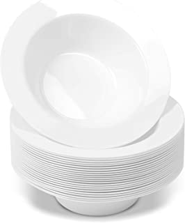 party peacock plastic bowls microwave safe