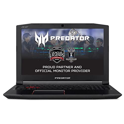 "Acer Predator Helios 300 PH315-51-50Y7 - Ordenador portátil de 15.6"" Full HD (Intel Core i5-8300H, 8 GB RAM, 1000 GB HDD, 128 GB SSD, Nvidia GeForce GTX 1060, Linux) Negro - Teclado QWERTY Español"