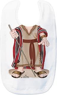 Just Add A Kid Baby Boy's Moses 1026 Baby Bib 0-6 Months White