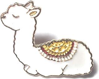 cartoon Animal alpaca smalto collare camicia spilla di gioielli per le donne wonCacrostrans donne pin badge
