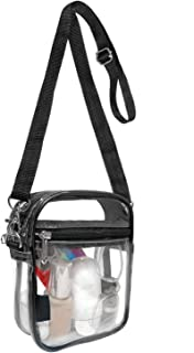 Armiwiin Clear Crossbody Bag Clear Purse Stadium Approved for Concerts Festivals