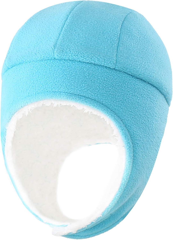 Home Prefer Toddler Boys Winter Hats Sherpa Knit Fleece Beanie Kids Earflaps Hat