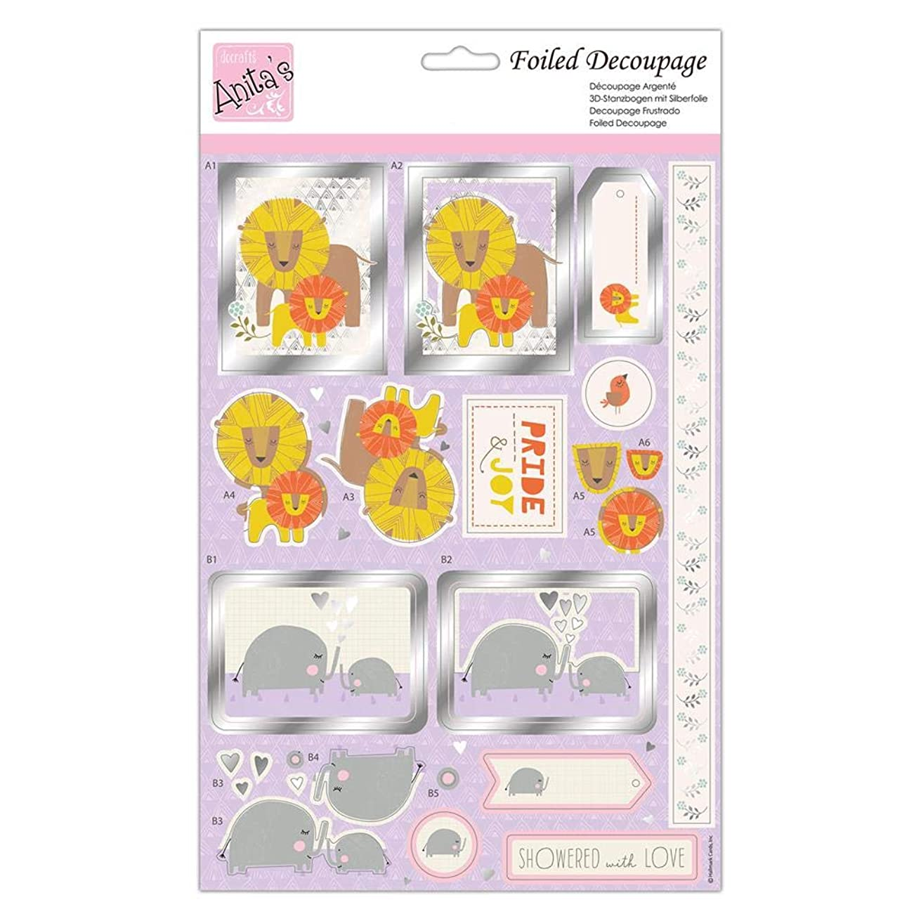 Anita's Decoupage, Multi-Colour, One Size