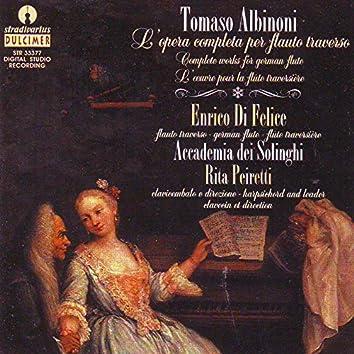 Albinoni: Complete Works for German Flute