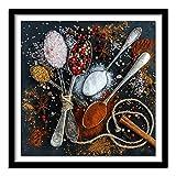 5D Pintura Diamante Painting Kit DIY Taladro Completo tenedor y cuchillo de cocina Hada Adultos Niño Punto Cruz Cuadro Grande Puzzle Rhinestone Bordado Art Home Pared Decor Manualidades 40x40cm