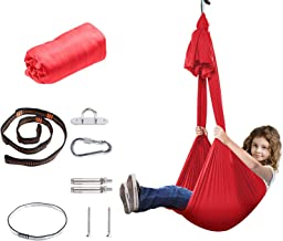 AVAH Indoor Therapy Swing for Kids & Adults - Sensory Swing for Children (Hardware Included) with Special Needs,Snuggle Ha...