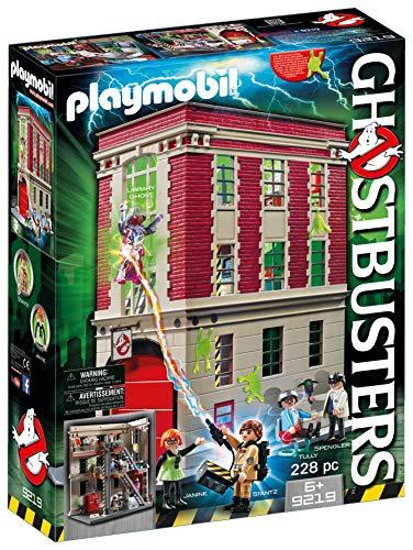 PLAYMOBIL 9219 Ghostbusters Cuartel Parque
